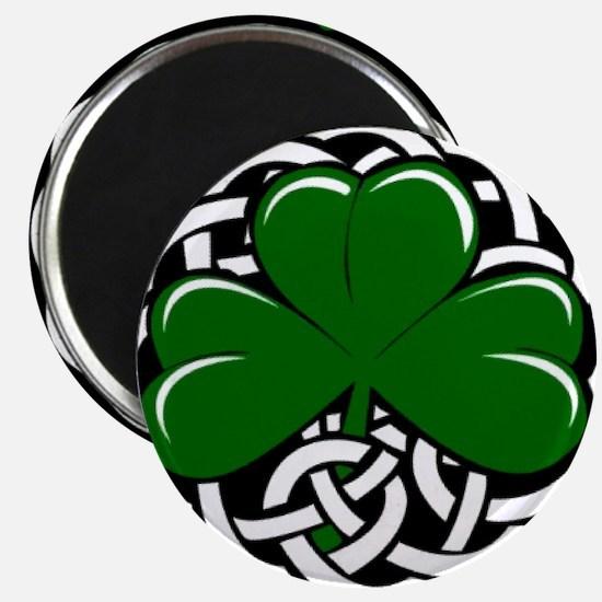 Celtic Shamrock Magnets