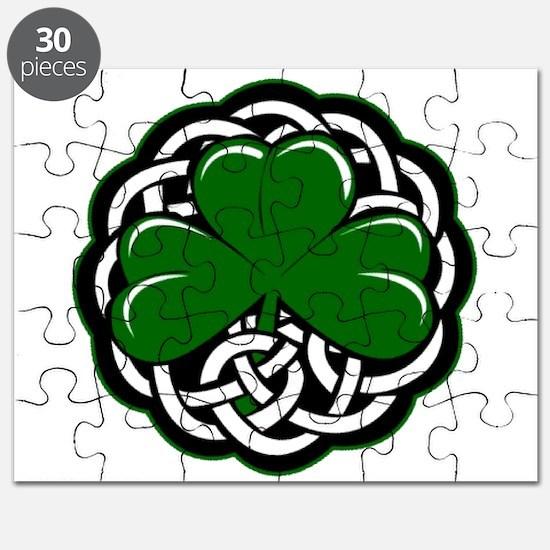 Celtic Shamrock Puzzle