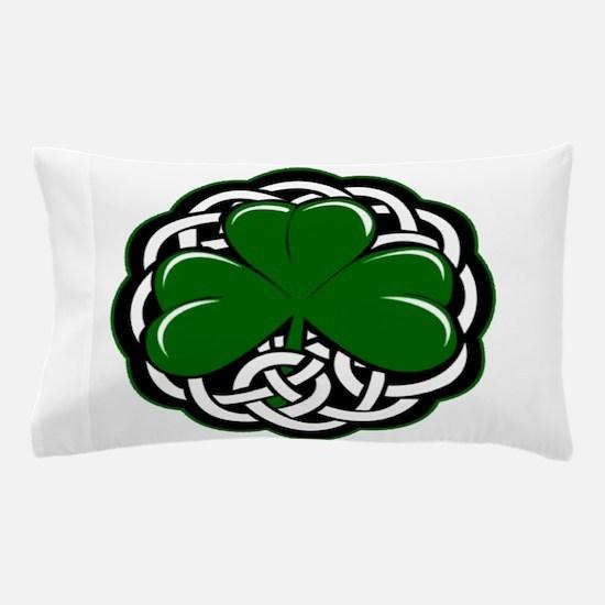 Celtic Shamrock Pillow Case