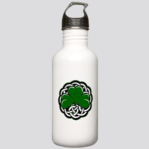 Celtic Shamrock Water Bottle