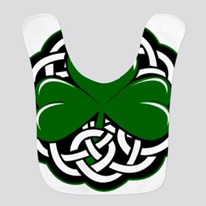 Celtic Shamrock Bib