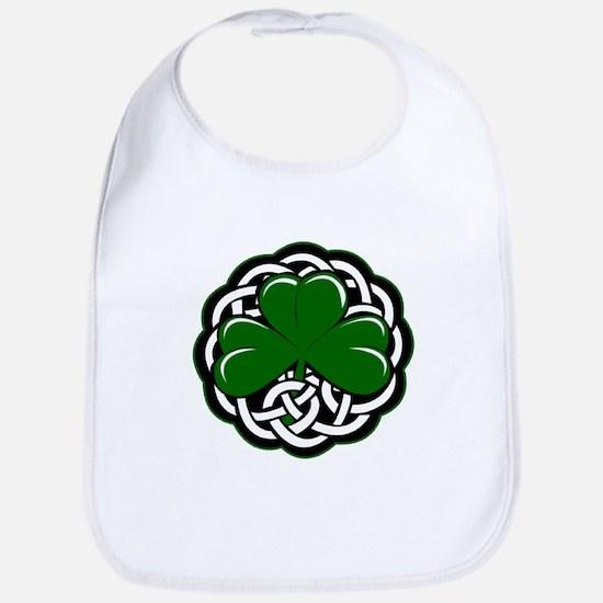 Celtic Shamrock Bib