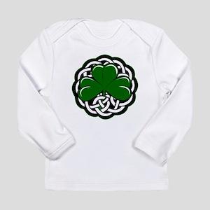 Celtic Shamrock Long Sleeve T-Shirt