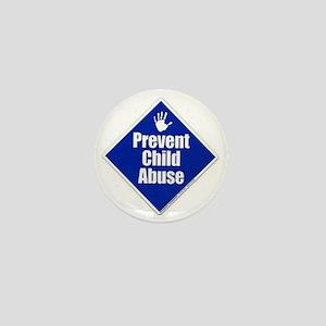 stop child abuse  Mini Button