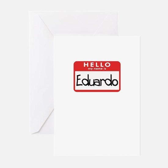 Hello Eduardo Greeting Cards (Pk of 10)