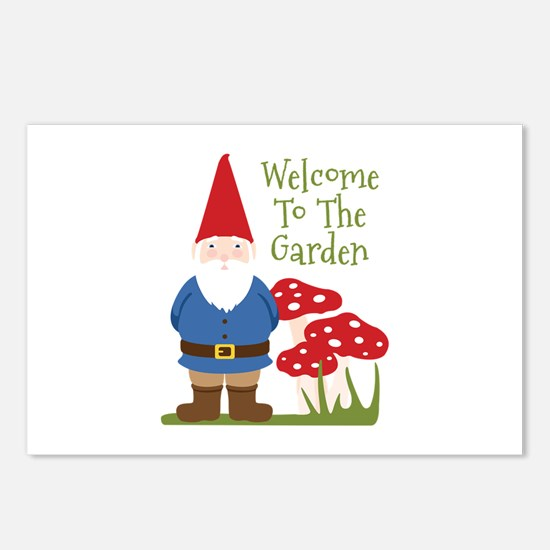 Welcome to the Garden Postcards (Package of 8)