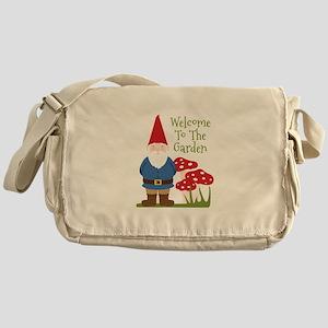 Welcome to the Garden Messenger Bag