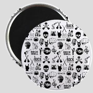 Heavy Metal Pattern Magnet