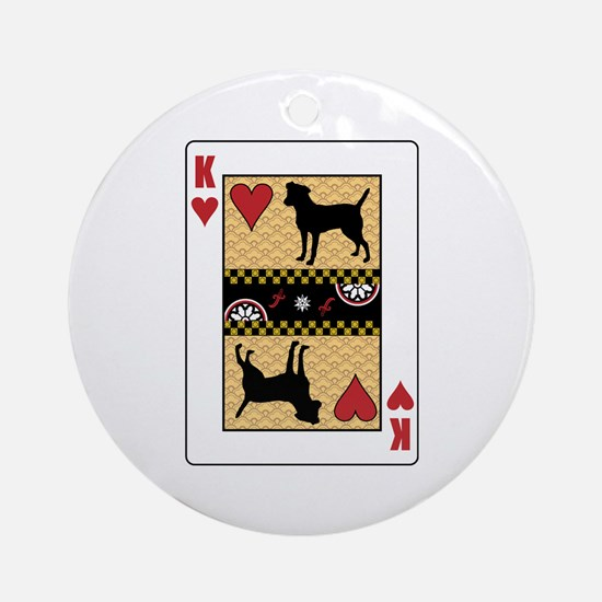 King Patterdale Ornament (Round)