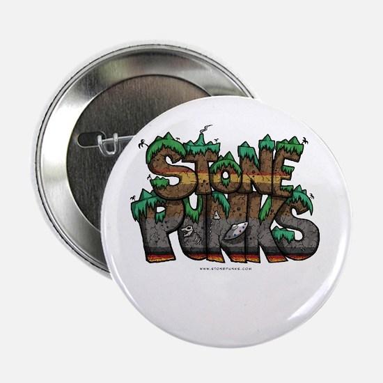 "Stone Punks Logo 2.25"" Button"