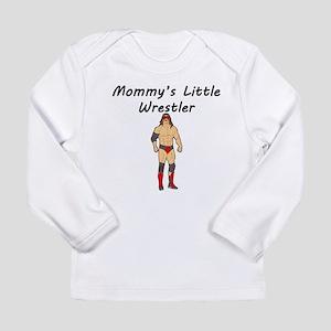 Mommys Little Wrestler Long Sleeve T-Shirt