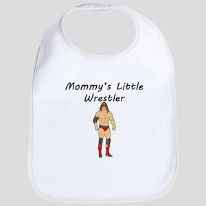 Mommys Little Wrestler Bib