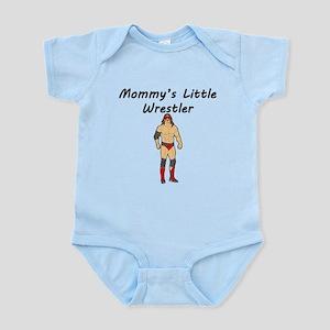 Mommys Little Wrestler Body Suit