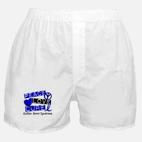 Peace Love Cure 1 GBS Boxer Shorts