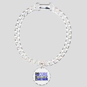 Find the Cure GBS Charm Bracelet, One Charm