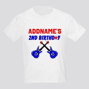 ROCK N ROLL 2 YR OLD Kids Light T-Shirt