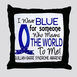 Means World to Me 1 GBS Throw Pillow