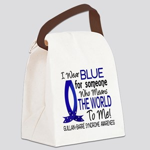 Means World to Me 1 GBS Canvas Lunch Bag