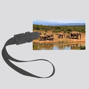 Elephant 006 Large Luggage Tag