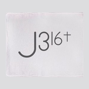J316Typo Throw Blanket