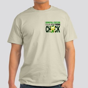 Messed With Wrong Chick 1 Adrenal Ca Light T-Shirt