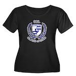 SCIL 2009 Women's Plus Size Scoop Neck Dark Shirt