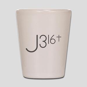 J316Typo Shot Glass