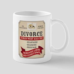 Medicinal Divorce Label Mugs