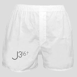 J316Typo Boxer Shorts