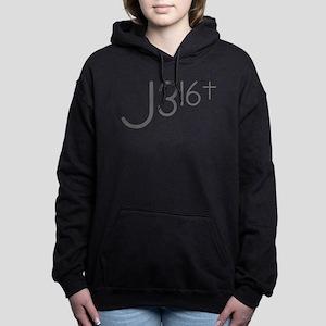 J316Typo Hooded Sweatshirt