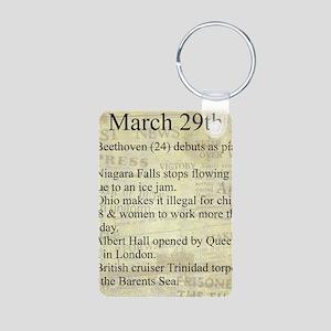 March 29th Keychains