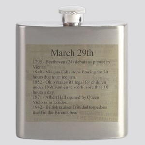 March 29th Flask