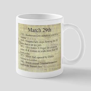 March 29th Mugs