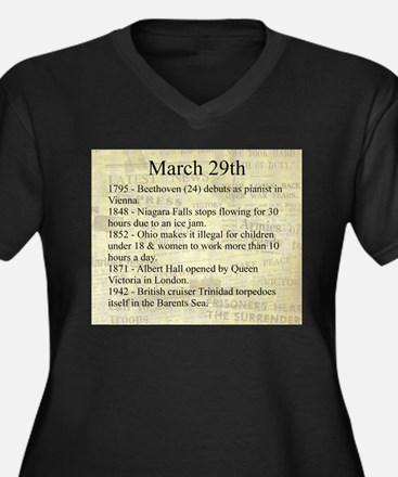 March 29th Plus Size T-Shirt