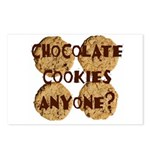 Chocolate Cookies Anyone? Postcards (Package of 8)