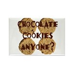 Chocolate Cookies Anyone? Rectangle Magnet (100 pa