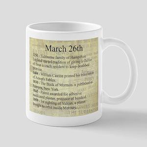 March 26th Mugs