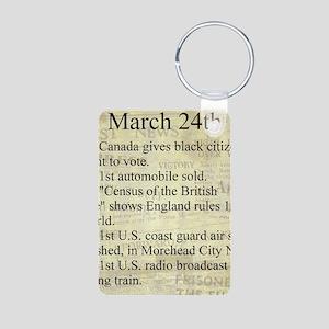March 24th Keychains