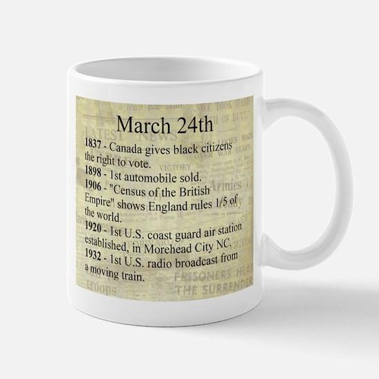 March 24th Mugs