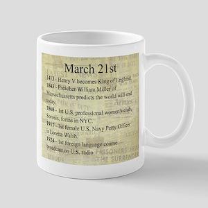 March 21st Mugs