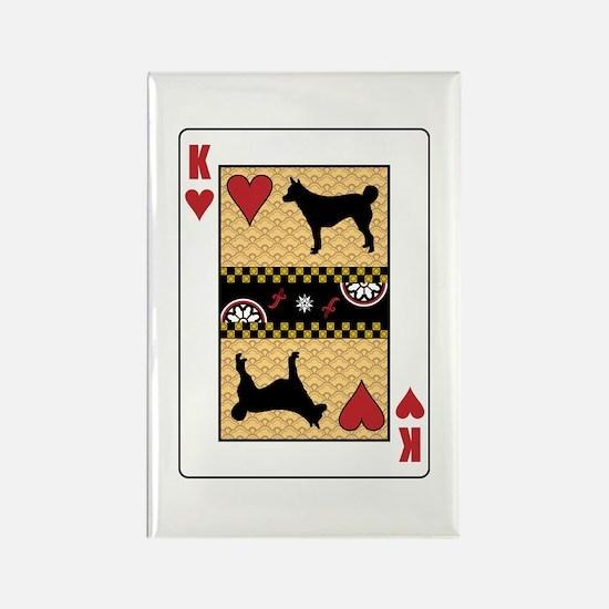 King Lundehund Rectangle Magnet (10 pack)