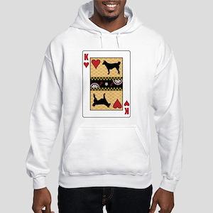 King Lundehund Hooded Sweatshirt