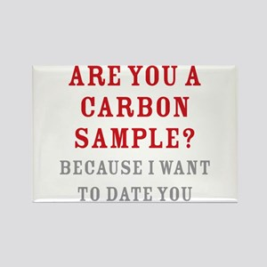 Carbon Dating Rectangle Magnet