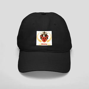 German Bossong Coat of Arms Black Cap