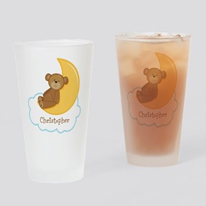PD Teddy Bear Moon Drinking Glass