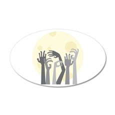 Zombie Undead Monster Halloween Wall Decal