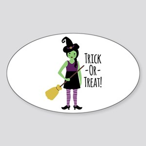 Trick - Or - Treat! Sticker
