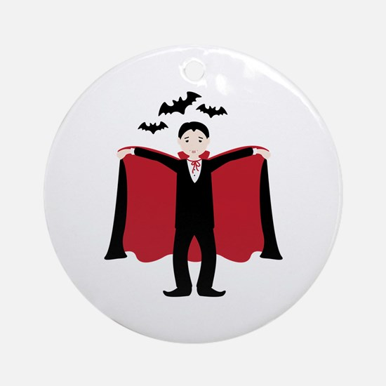Little Dracula Ornament (Round)