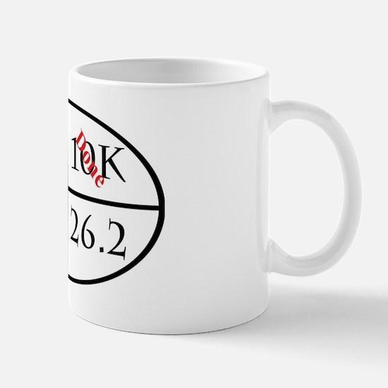 3 of 4 major running goals completed Mug