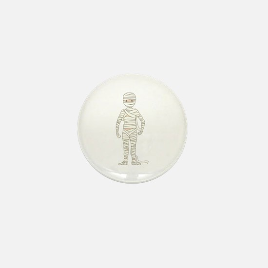 Mummy Mini Button